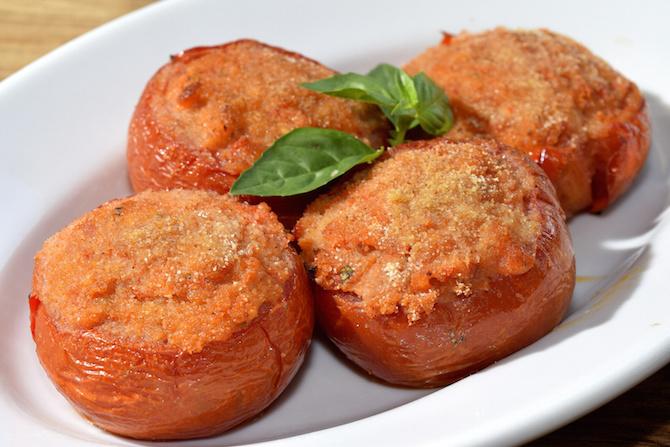 ricette dieta settembre pomodori gratinati