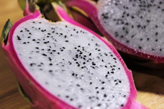 dragon fruit polpa bianca