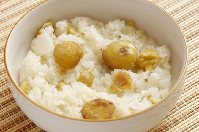 castagne come mangiarle riso