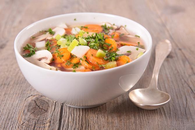 funghi come mangiarli minestrone
