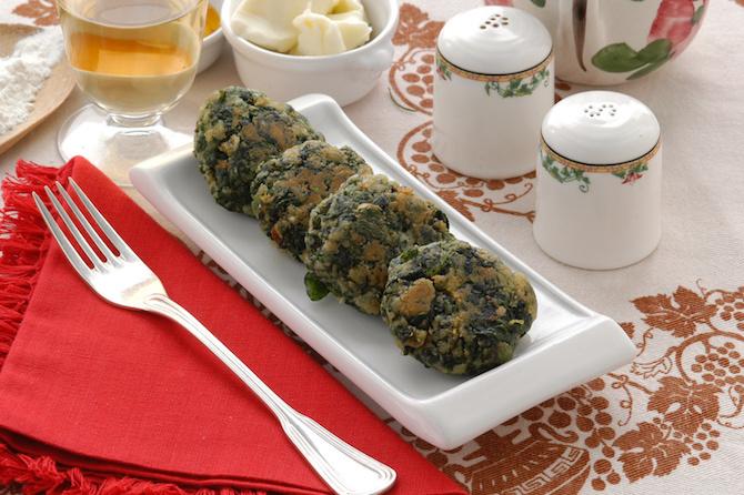 spinaci ricetta polpette