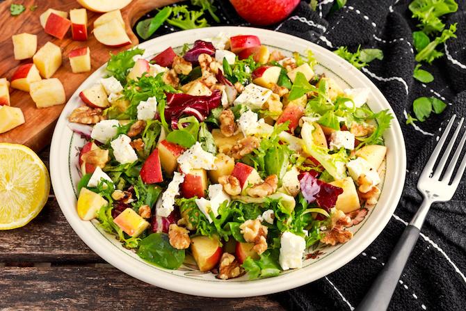 ricetta spinaci insalata