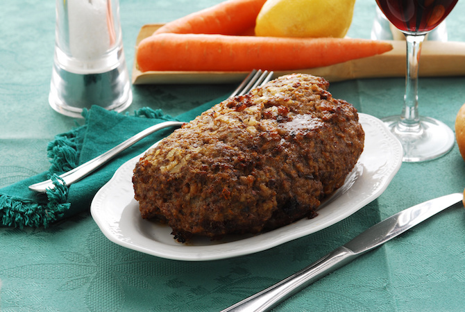 ricetta vegan polpettone fagioli rossi