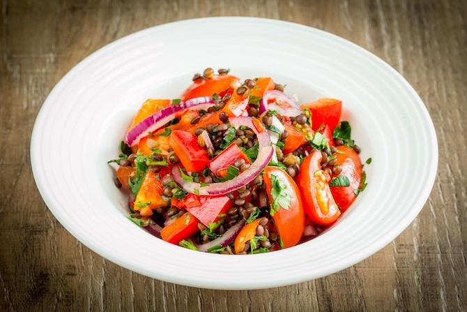 lenticchie ricetta insalata
