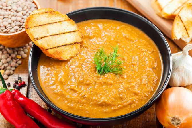 lenticchie ricetta purè