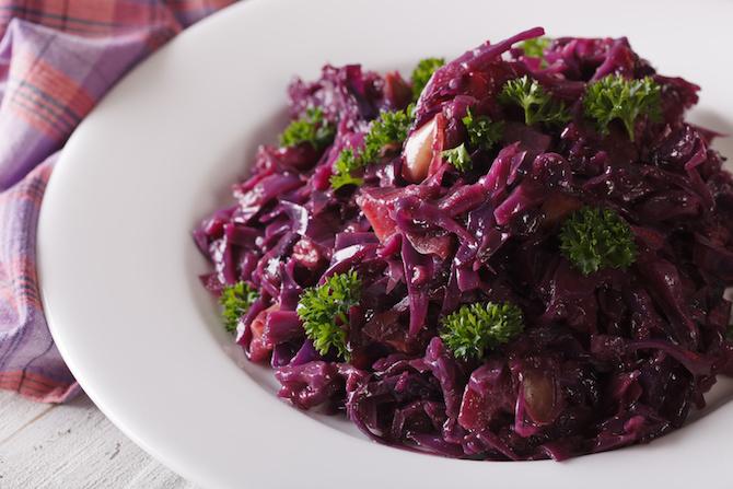 ricette dieta novembre verza rossa