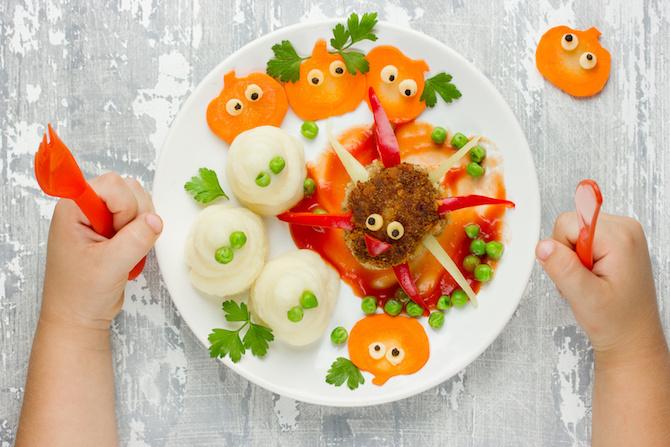 alimentazione bambino polpette zucca lenticchie