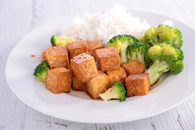 broccoli ricetta light riso tofu anacardi