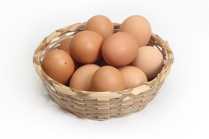 caduta capelli uova