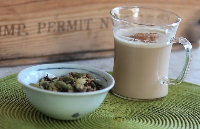 colazione indiana chai