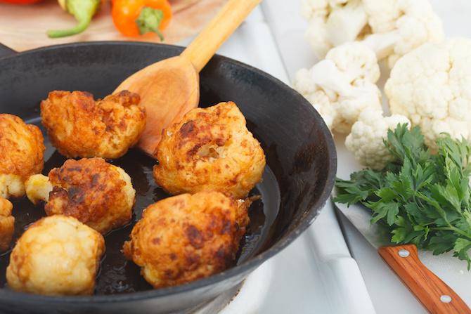 cimette cavolfiore in padella ricette vegan