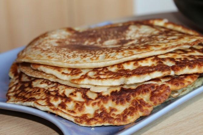 ricetta vegana farina manitoba pancake
