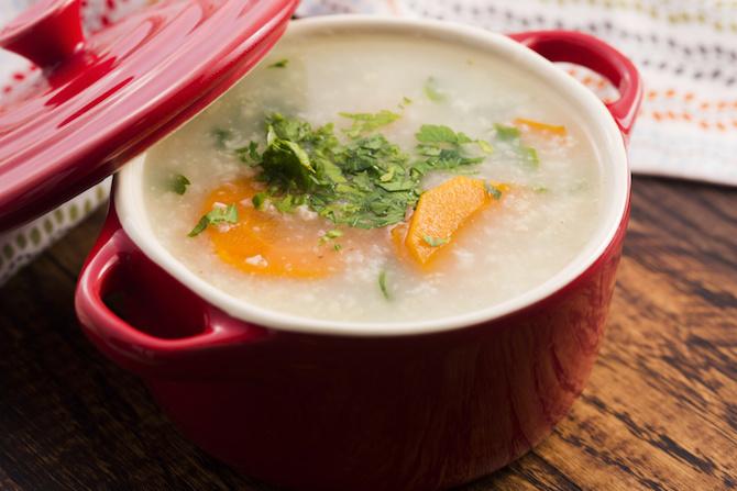 zuppa macrobiotica miso miglio