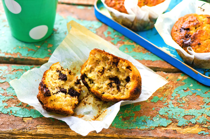 muffin-banane