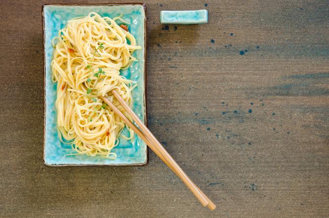 spaghetti zenzero