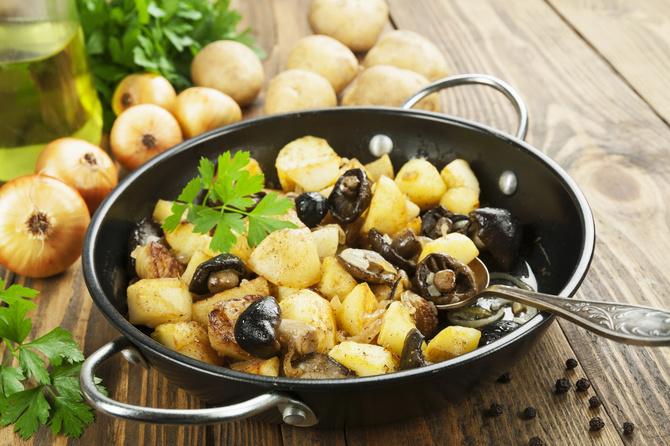 patate-funghi