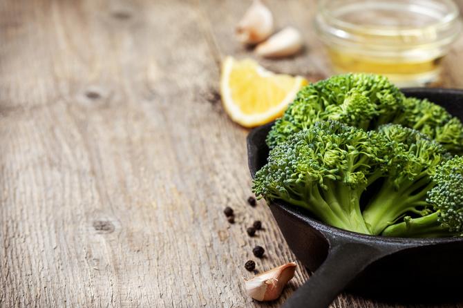 broccolo-padella