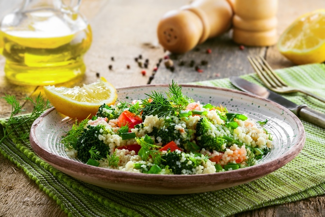 couscous-broccoli