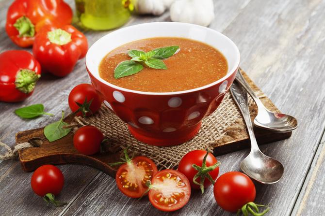 Gazpacho classico al pomodoro