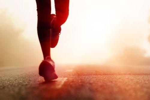 Esercizi per rassodare le gambe, la corsa