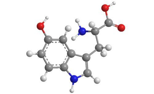 Molecola di 5-HTP
