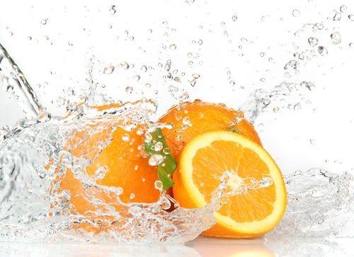 Arance che contengono acido ascorbico