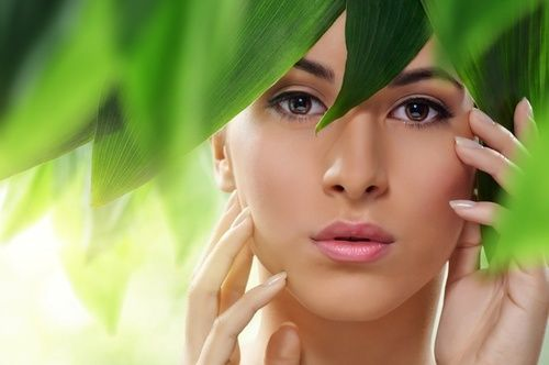 Trucco naturale viso