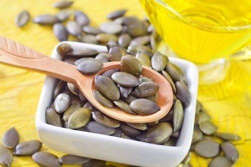 Semi di zucca integratori alimentari di zinco