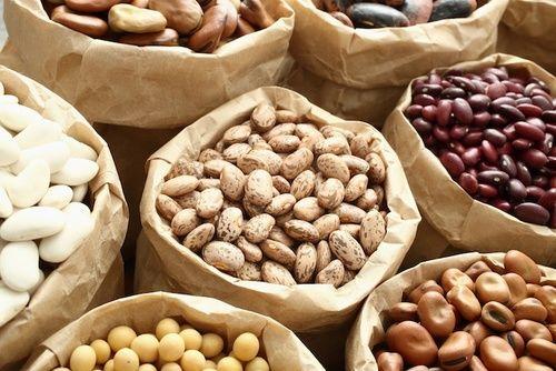 Legumi ricchi di proteine vegetali