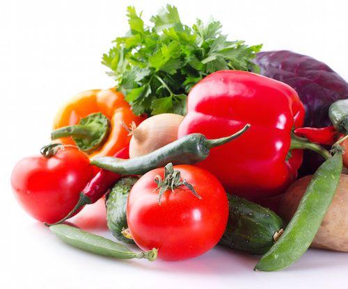 Verdura, ricca di enzimi vegetali