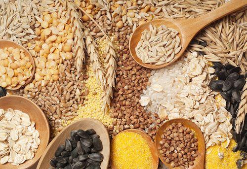 Cereali integratori alimentari di fibre