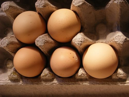 Uova fonte di vitamina D