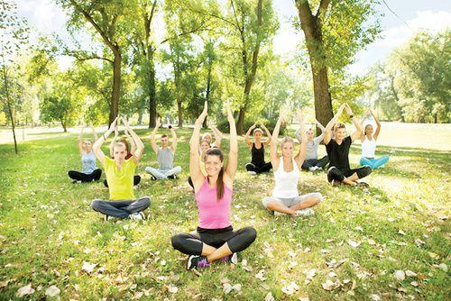 Fitness e yoga