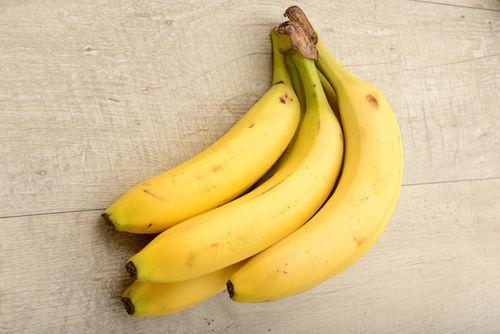 Banane, ricche di potassio