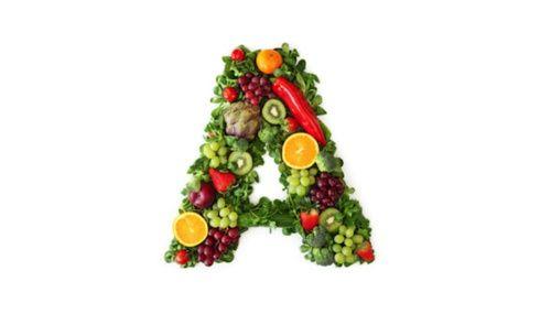 Vitamina A e alimenti