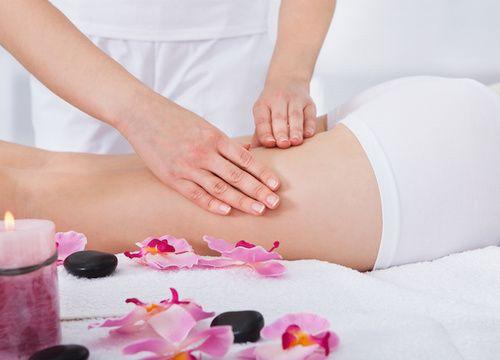 Massaggio circolatorio anticellulite