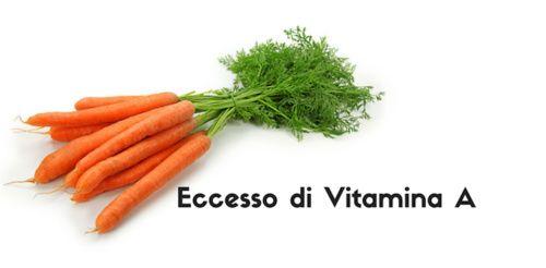Eccesso di vitamina A