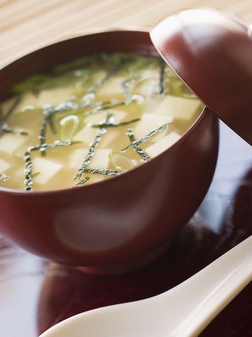 Zuppa di miso tra i cibi probiotici