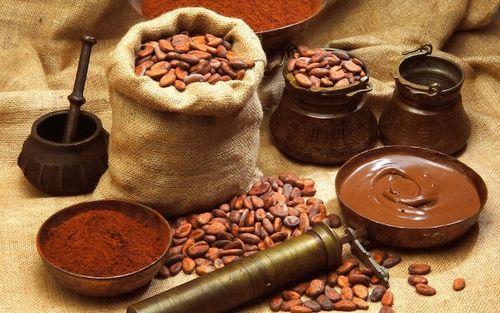 Cacao amaro ricco di magnesio