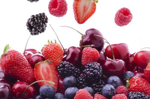 Frutti rossi contro le emorroidi