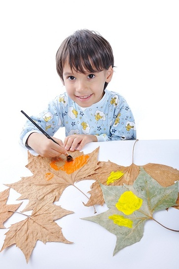 Impronte di foglie