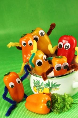 Organizzare un buffet naturale per i bambini
