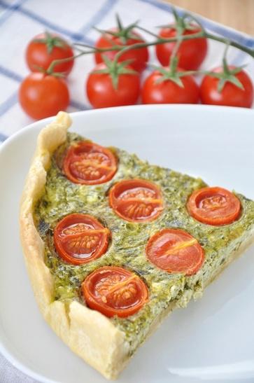 Una torta salata vegan facile