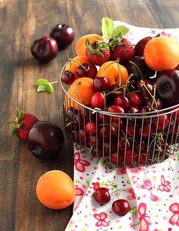 La frutta di giugno