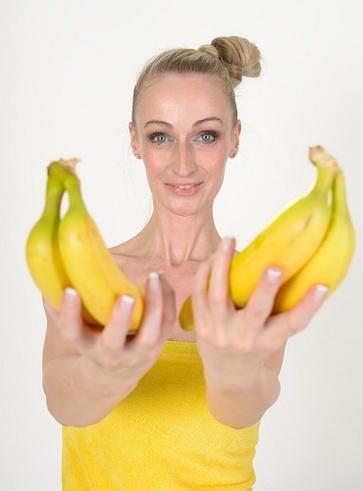 Le banane e la frutta