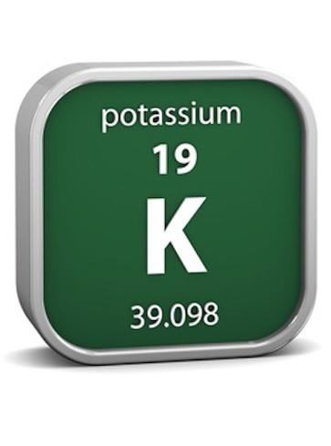 Tutte le proprietà del potassio