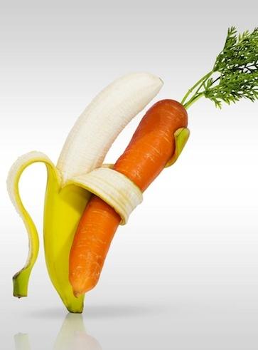 Carote e banane