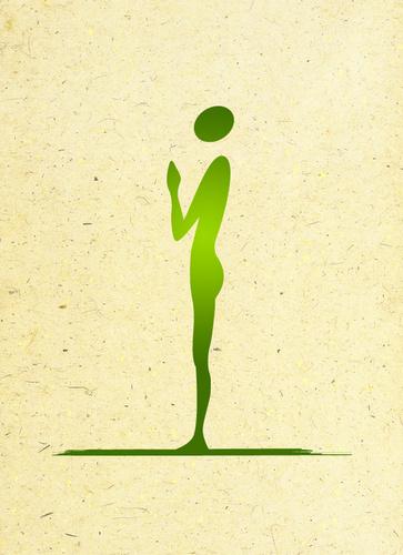 Prima posizione: Pranamasana