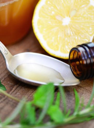 Sciroppo al miele e limone