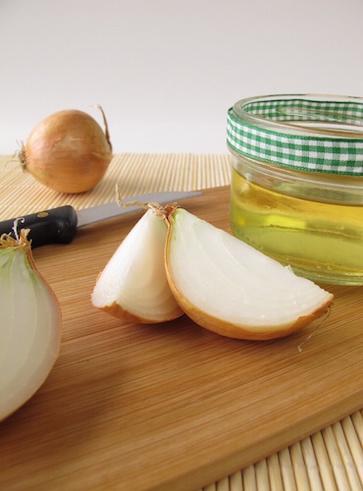 Sciroppo di cipolla e miele